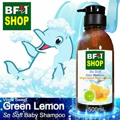 So Soft Baby Shampoo (SSBS1) - Virgin Sweet Lemon - Green Lemon - 500ml