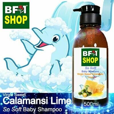 So Soft Baby Shampoo (SSBS1) - Virgin Sweet lime - Calamansi Lime - 500ml