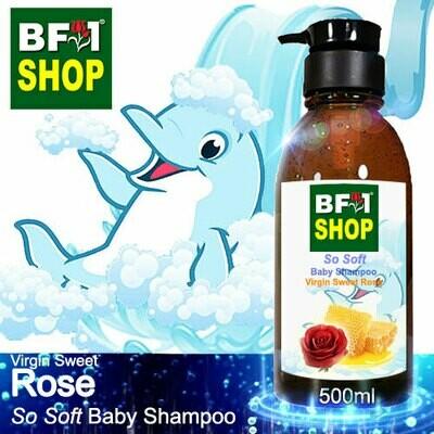 So Soft Baby Shampoo (SSBS1) - Virgin Sweet Rose - 500ml