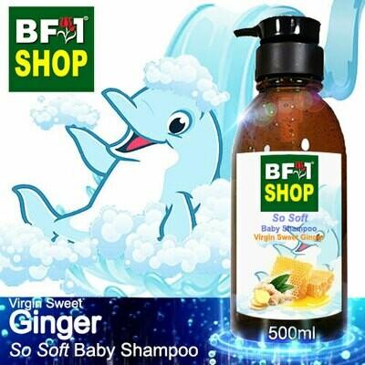 So Soft Baby Shampoo (SSBS1) - Virgin Sweet Ginger - 500ml