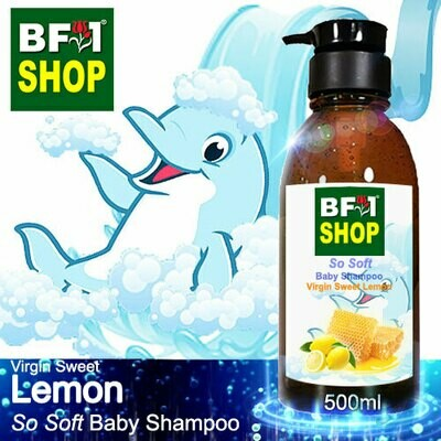 So Soft Baby Shampoo (SSBS1) - Virgin Sweet Lemon - 500ml