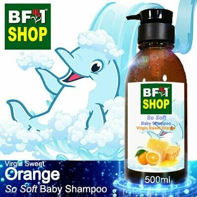So Soft Baby Shampoo (SSBS1) - Virgin Sweet Orange - 500ml