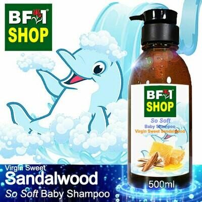 So Soft Baby Shampoo (SSBS1) - Virgin Sweet Sandalwood - 500ml