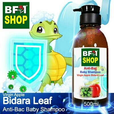 Anti-Bac Baby Shampoo (ABBS1) - Virgin Apple Bidara - 500ml