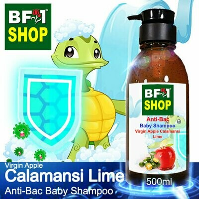 Anti-Bac Baby Shampoo (ABBS1) - Virgin Apple lime - Calamansi Lime - 500ml