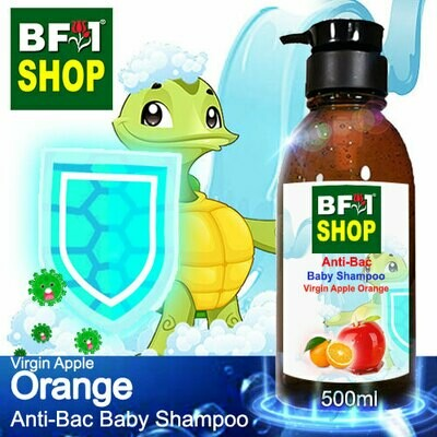 Anti-Bac Baby Shampoo (ABBS1) - Virgin Apple Orange - 500ml