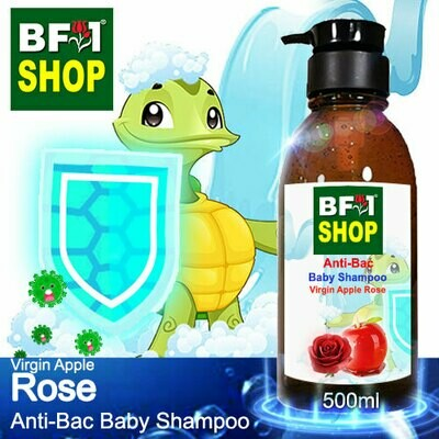 Anti-Bac Baby Shampoo (ABBS1) - Virgin Apple Rose - 500ml