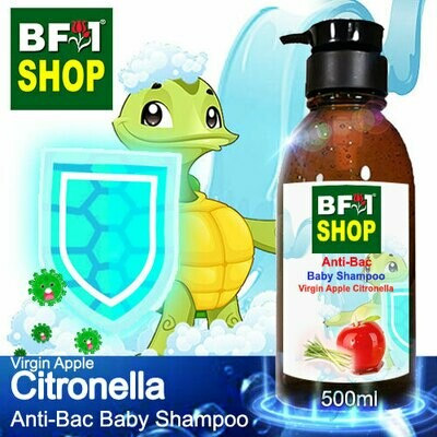 Anti-Bac Baby Shampoo (ABBS1) - Virgin Apple Citronella - 500ml
