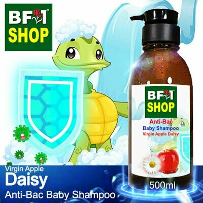 Anti-Bac Baby Shampoo (ABBS1) - Virgin Apple Daisy - 500ml