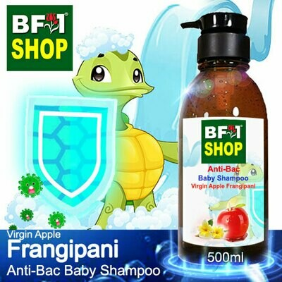 Anti-Bac Baby Shampoo (ABBS1) - Virgin Apple Frangipani - 500ml