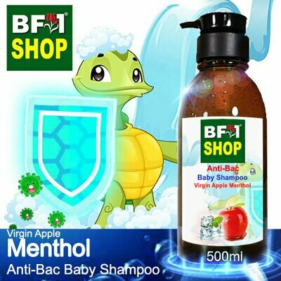 Anti-Bac Baby Shampoo (ABBS1) - Virgin Apple Menthol - 500ml