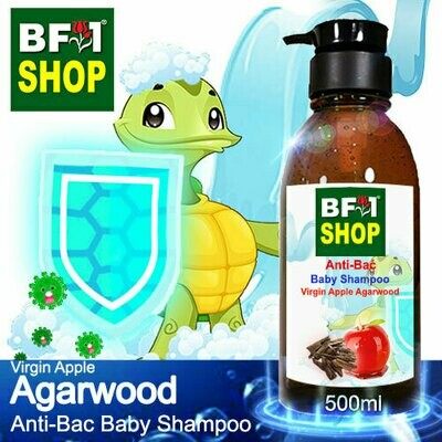 Anti-Bac Baby Shampoo (ABBS1) - Virgin Apple Agarwood - 500ml