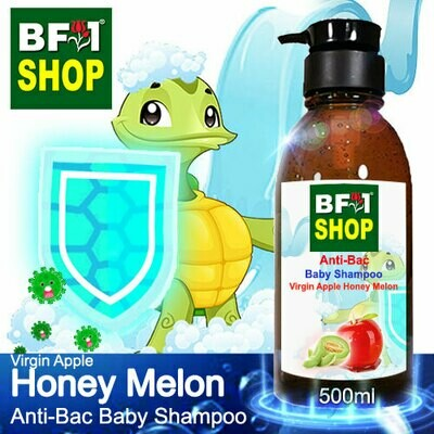 Anti-Bac Baby Shampoo (ABBS1) - Virgin Apple Honey Melon - 500ml