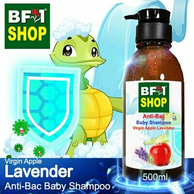 Anti-Bac Baby Shampoo (ABBS1) - Virgin Apple Lavender - 500ml