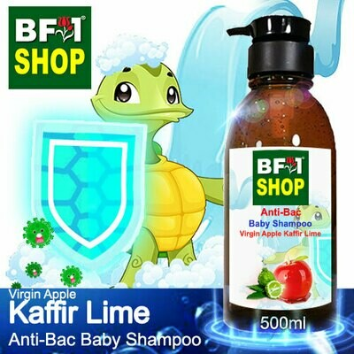 Anti-Bac Baby Shampoo (ABBS1) - Virgin Apple lime - Kaffir Lime - 500ml