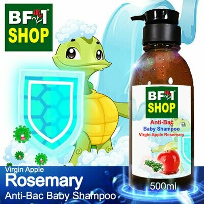 Anti-Bac Baby Shampoo (ABBS1) - Virgin Apple Rosemary - 500ml