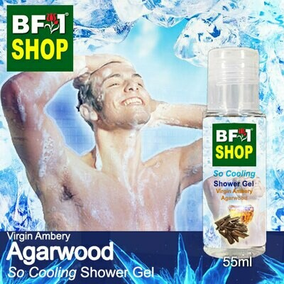 So Cooling Shower Gel (SCSG) - Virgin Ambery Agarwood - 55ml