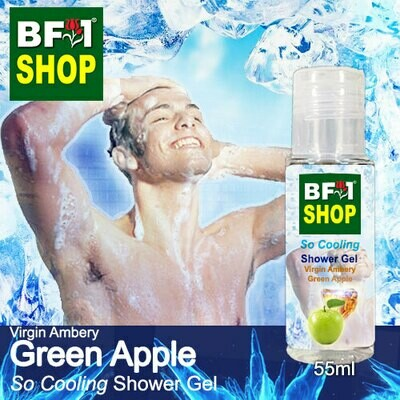 So Cooling Shower Gel (SCSG) - Virgin Ambery Apple - Green Apple - 55ml