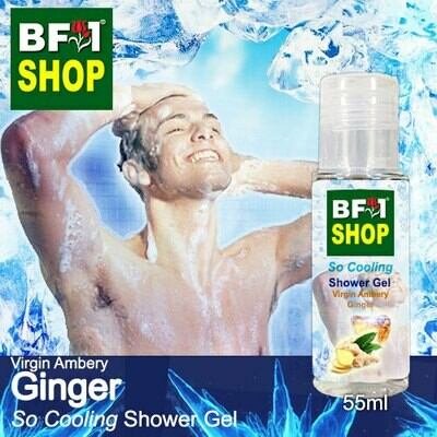 So Cooling Shower Gel (SCSG) - Virgin Ambery Ginger - 55ml