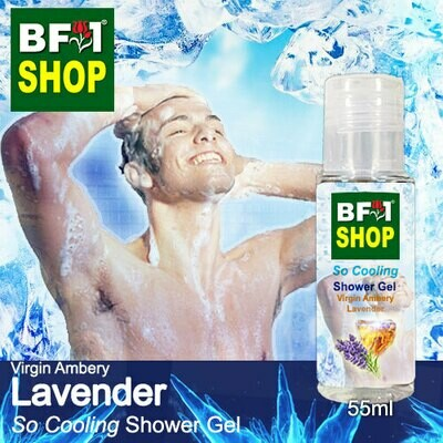 So Cooling Shower Gel (SCSG) - Virgin Ambery Lavender - 55ml