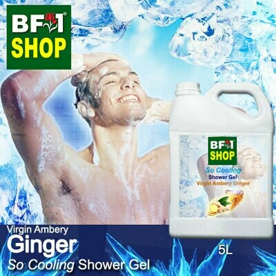 So Cooling Shower Gel (SCSG) - Virgin Ambery Ginger - 5L