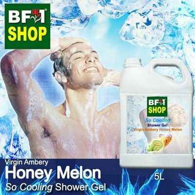 So Cooling Shower Gel (SCSG) - Virgin Ambery Honey Melon - 5L