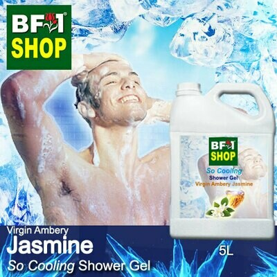 So Cooling Shower Gel (SCSG) - Virgin Ambery Jasmine - 5L