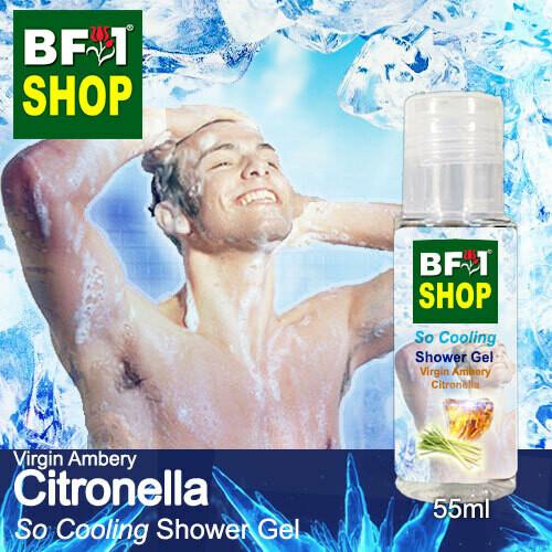 So Cooling Shower Gel (SCSG) - Virgin Ambery Citronella - 55ml