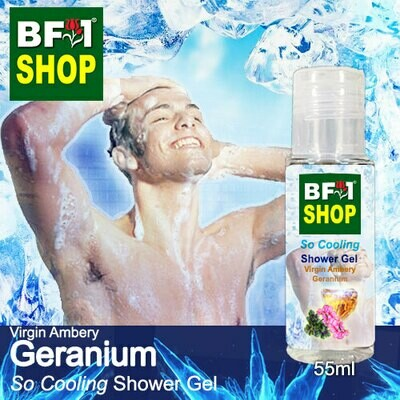 So Cooling Shower Gel (SCSG) - Virgin Ambery Geranium - 55ml