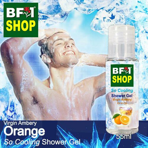 So Cooling Shower Gel (SCSG) - Virgin Ambery Orange - 55ml