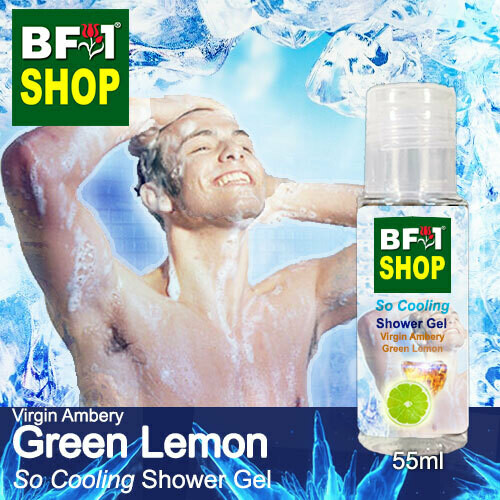 So Cooling Shower Gel (SCSG) - Virgin Ambery Lemon - Green Lemon - 55ml