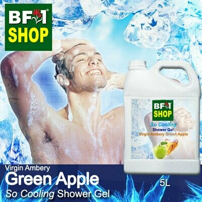 So Cooling Shower Gel (SCSG) - Virgin Ambery Apple - Green Apple - 5L