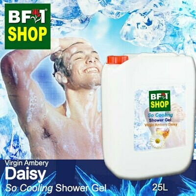 So Cooling Shower Gel (SCSG) - Virgin Ambery Daisy - 25L