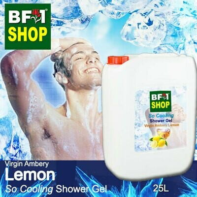 So Cooling Shower Gel (SCSG) - Virgin Ambery Lemon - 25L