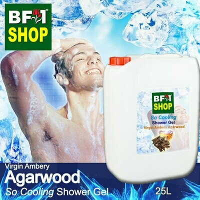So Cooling Shower Gel (SCSG) - Virgin Ambery Agarwood - 25L