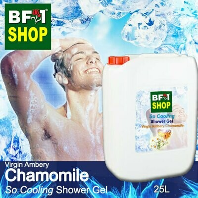 So Cooling Shower Gel (SCSG) - Virgin Ambery Chamomile - 25L