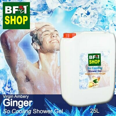So Cooling Shower Gel (SCSG) - Virgin Ambery Ginger - 25L