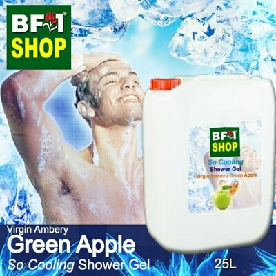 So Cooling Shower Gel (SCSG) - Virgin Ambery Apple - Green Apple - 25L
