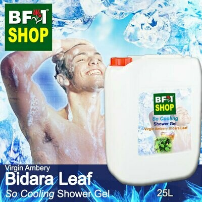 So Cooling Shower Gel (SCSG) - Virgin Ambery Bidara - 25L