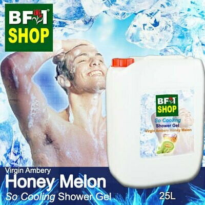 So Cooling Shower Gel (SCSG) - Virgin Ambery Honey Melon - 25L