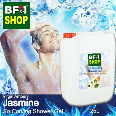 So Cooling Shower Gel (SCSG) - Virgin Ambery Jasmine - 25L
