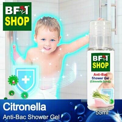 Anti-Bac Shower Gel (ABSG) - Citronella - 55ml