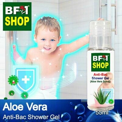 Anti-Bac Shower Gel (ABSG) - Aloe Vera - 55ml