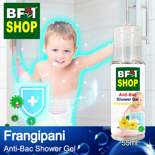 Anti-Bac Shower Gel (ABSG) - Frangipani - 55ml