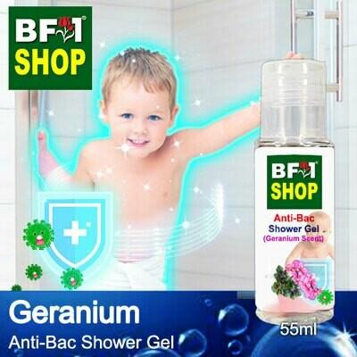Anti-Bac Shower Gel (ABSG) - Geranium - 55ml