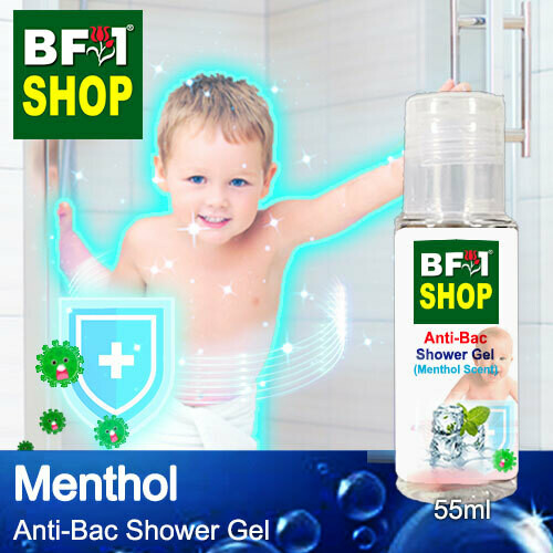 Anti-Bac Shower Gel (ABSG) - Menthol - 55ml