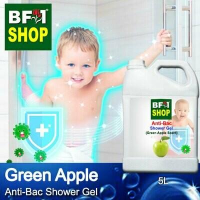 Anti-Bac Shower Gel (ABSG) - Apple - Green Apple - 5L