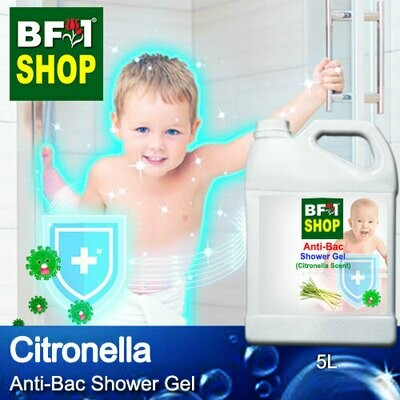 Anti-Bac Shower Gel (ABSG) - Citronella - 5L
