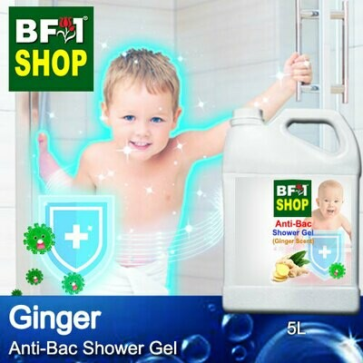 Anti-Bac Shower Gel (ABSG) - Ginger - 5L