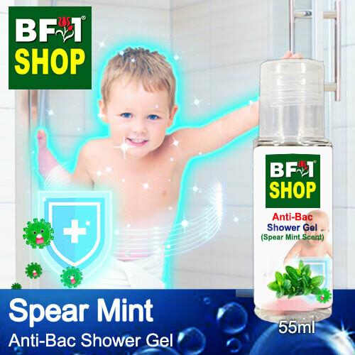 Anti-Bac Shower Gel (ABSG) - mint - Spear Mint - 55ml